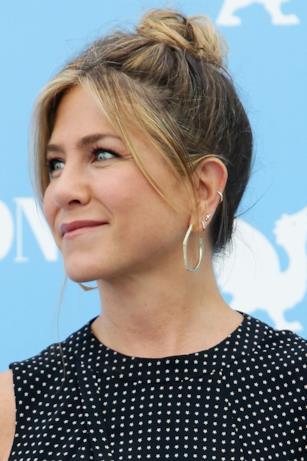 Primo piano di Jennifer Aniston al Giffoni Film Fest 2016