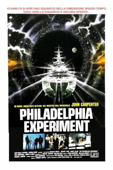 Poster Philadelphia Experiment