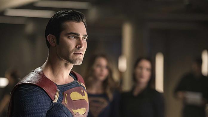 Superman in primo piano