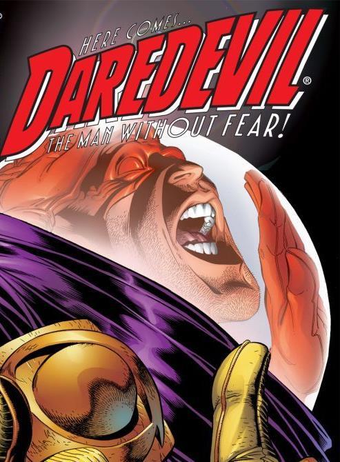 Dettaglio della cover di Daredevil #7