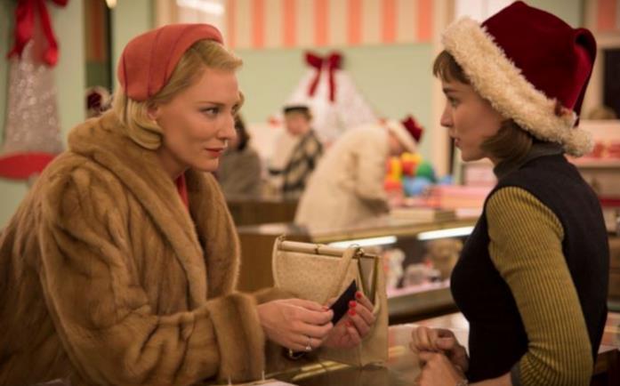 Una scena di Carol, il film di Todd Haynes