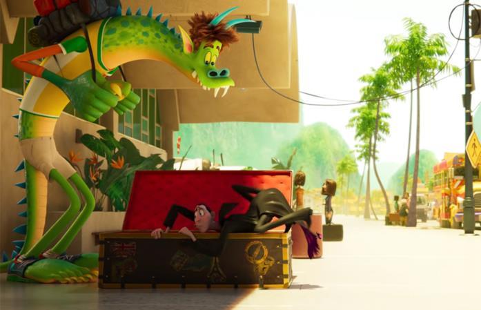 Hotel Transylvania: Uno scambio mostruoso: Johnny e Drac