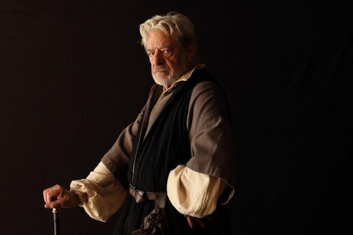 Il Verrocchio, maestro di Leonardo, interpretato e doppiato da Giancarlo Giannini