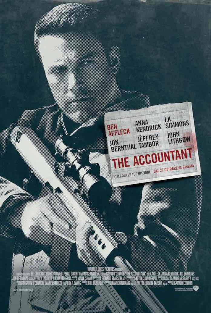 Ben Affleck con un fucile in mano
