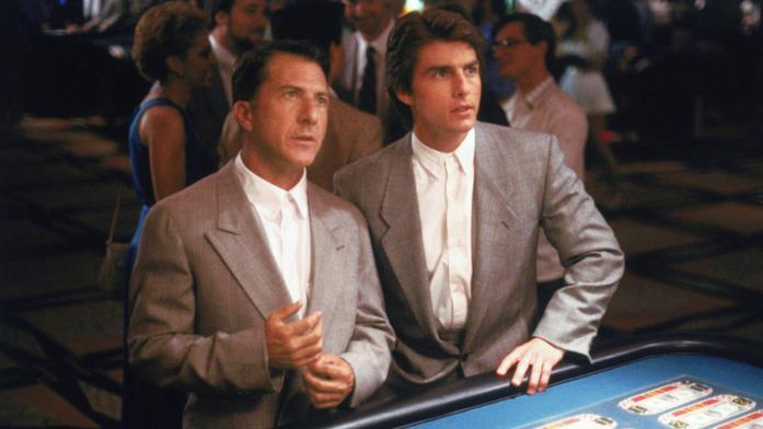 Dustin Hoffman e Tom Cruise