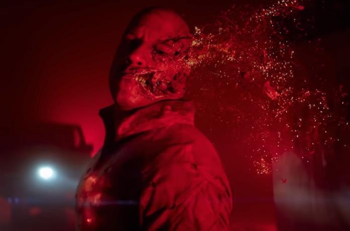 Vin Diesel in una scena del film Bloodshot