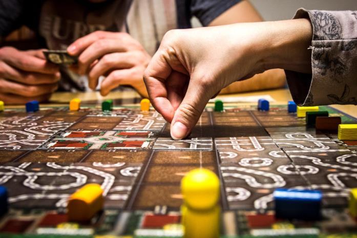 Giochi da tavolo: un tabellone