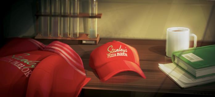 Il cappellino di Stanley's Pizza Parlor
