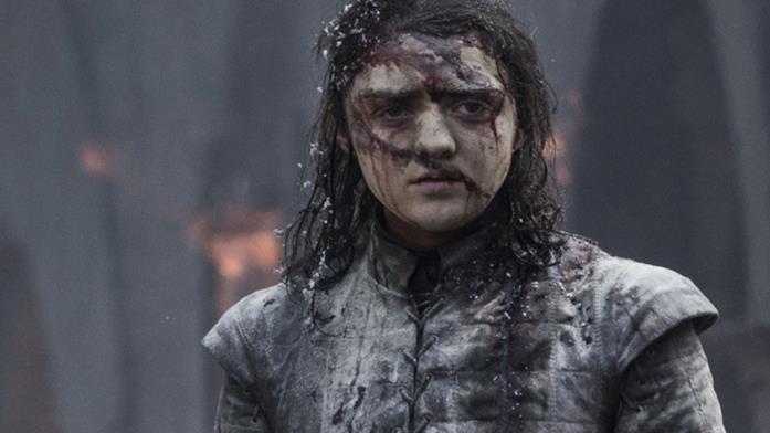 Maisie Williams in Game of Thrones 8x05