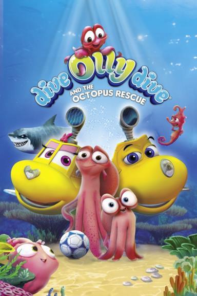 Poster Olly il sottomarino e il salvataggio del polipo