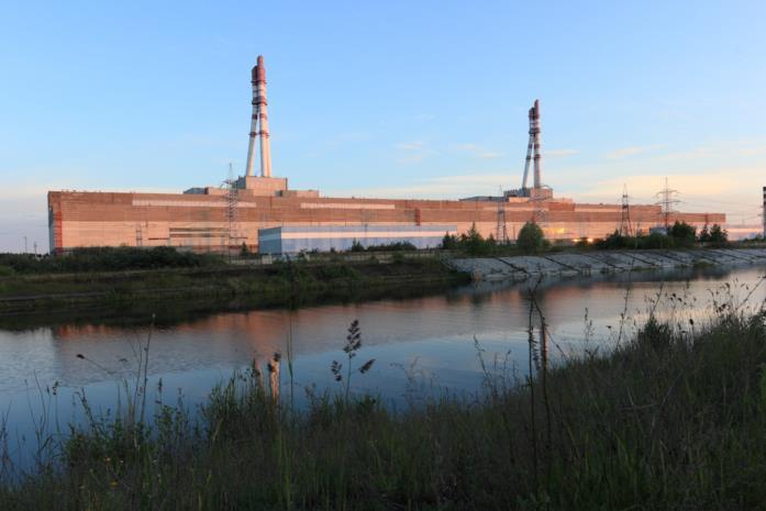 Una foto della centrale nucleare di Ignalina in Lituania