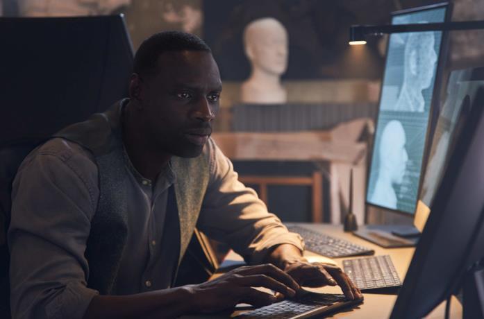 Omar Sy è Assane Diop nella serie Netflix di Lupin