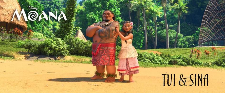 I genitori di Oceania, Capo Tui e Sina