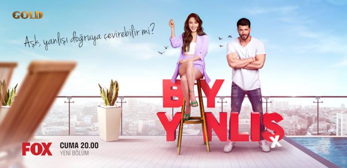 I due protagonisti nel poster di Bay Yanlış