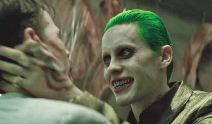 Una scena di Suicide Squad con il Joker