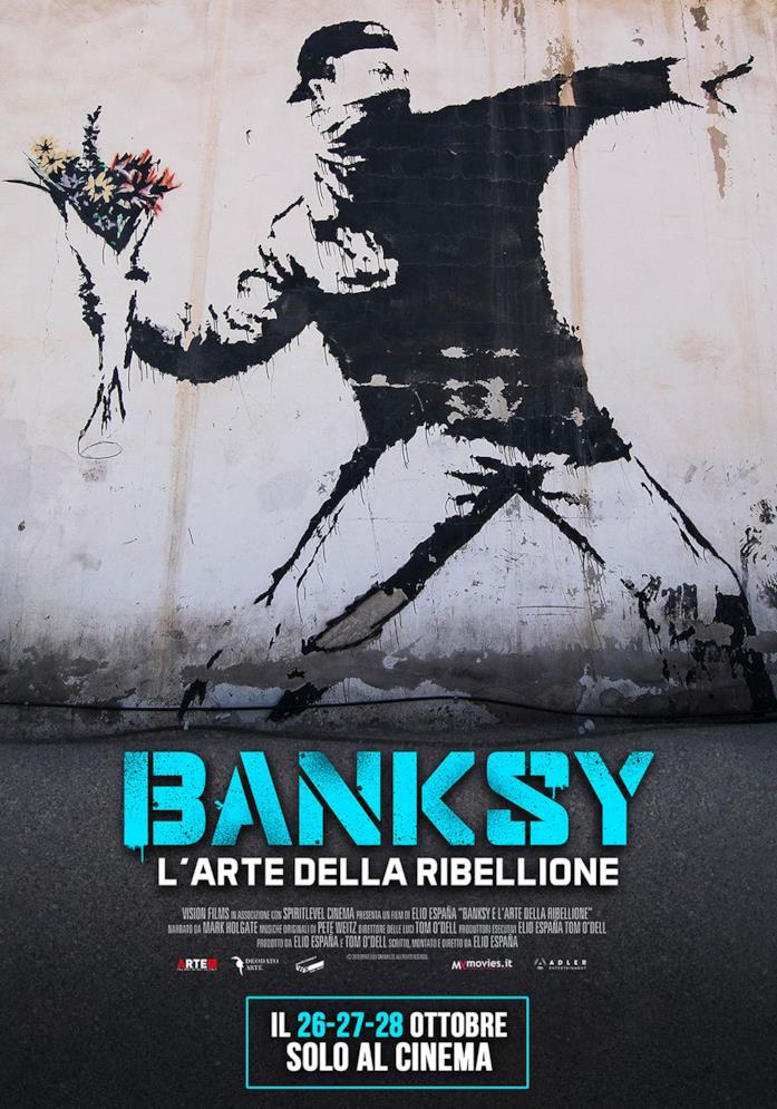La locandina di Banksy - L'arte della ribellione