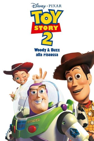 Poster Toy Story 2 - Woody & Buzz alla riscossa