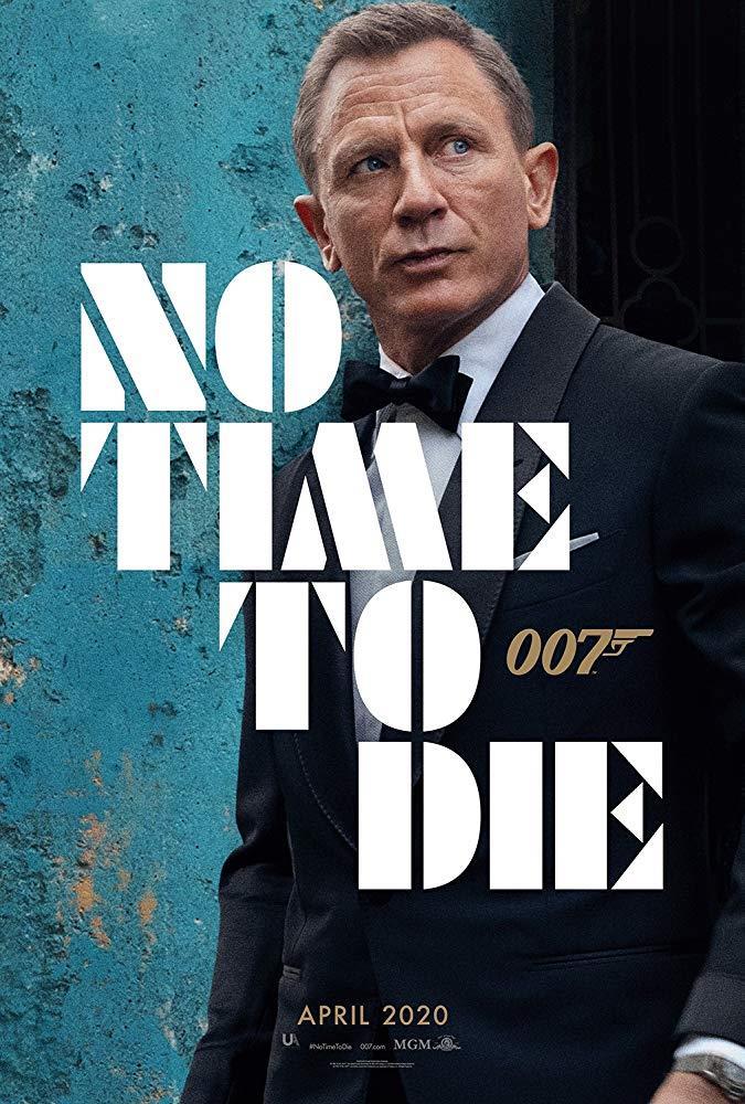 Il poster ufficiale del film No Time to Die