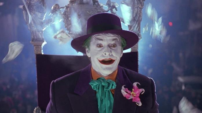 Jack Nicholson come Joker in Batman