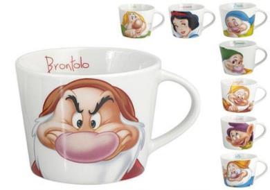 1 Tazza Da Te' Originale Disney Biancaneve 7 Nani - Assortito