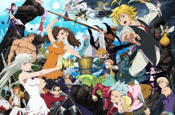 The Seven Deadly Sins: l'ordine in cui guardare l'anime