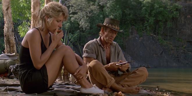 Una scena di Mr. Crocodile Dundee
