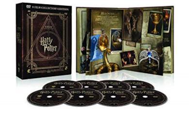 Harry Potter Magical Collection (8 DVD) - Cofanetto con Copertina in Pelle, Edizione Digibook (32 pagine)