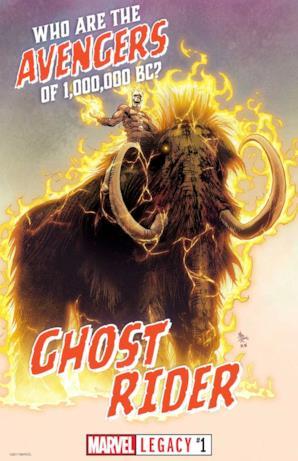 Ghost Rider da Marvel Legacy #1