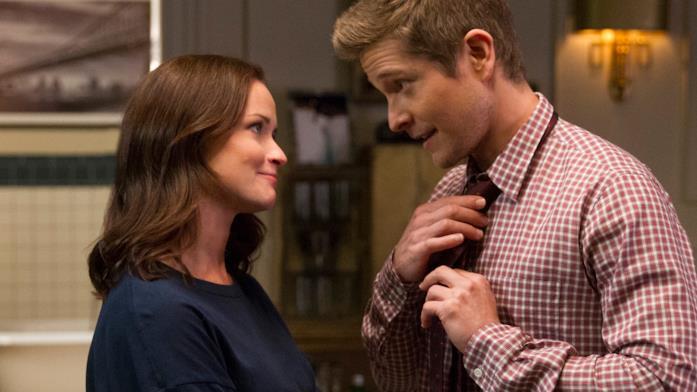 Una scena di Logan e Rory in Una mamma per amica - Di nuovo insieme
