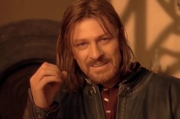 'Non si entra con facilità a Mordor': le origini del discorso di Boromir, poi diventato un MEME