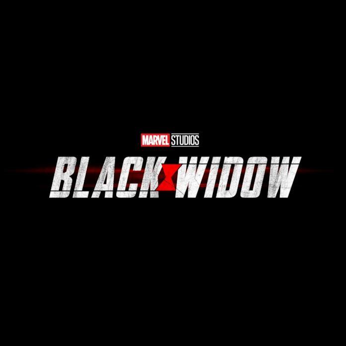 Logo di Black Widow, film della Fase 4 del MCU