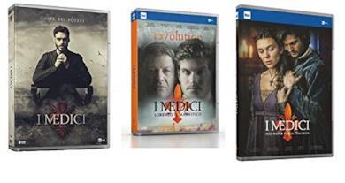 Cofanetti DVD de I Medici - Stagioni 1-3