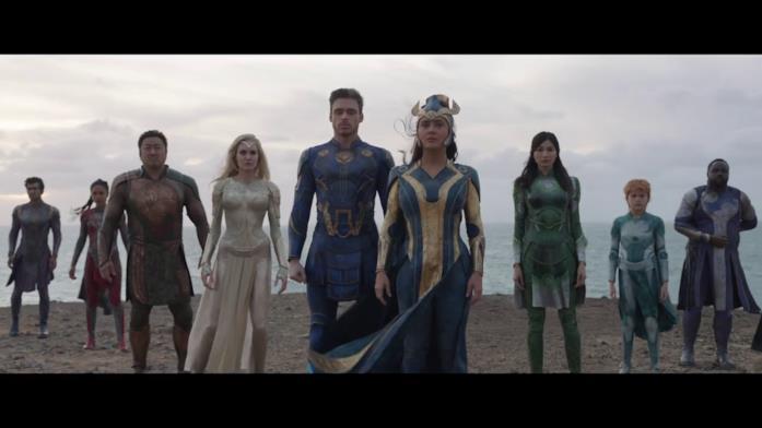 Gli Eterni sono pronti per dare battaglia nel trailer di Eternals