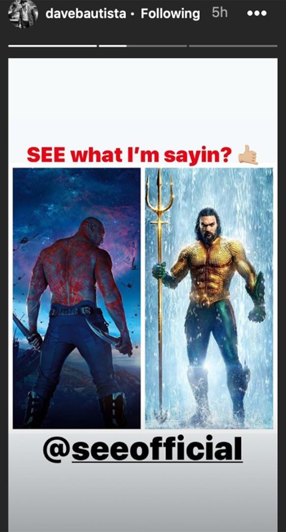 Drax e Aquaman