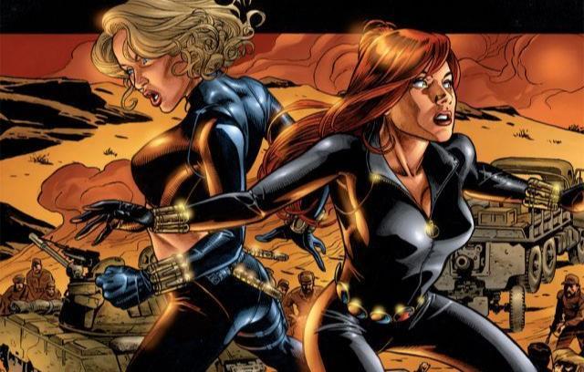Dettaglio della cover di Black Widow #2