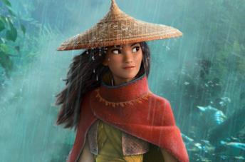 Raya sotto la pioggia
