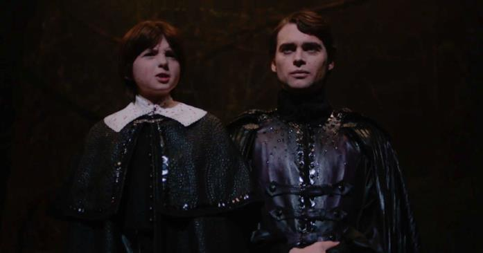 Il piccolo John e il suo servitore Sebastian Marburg