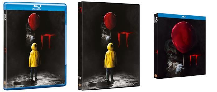 IT in Blu-ray e DVD