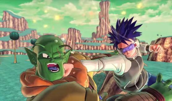 Il protagonista in una delle prima immagini di Dragon Ball Xenoverse 2