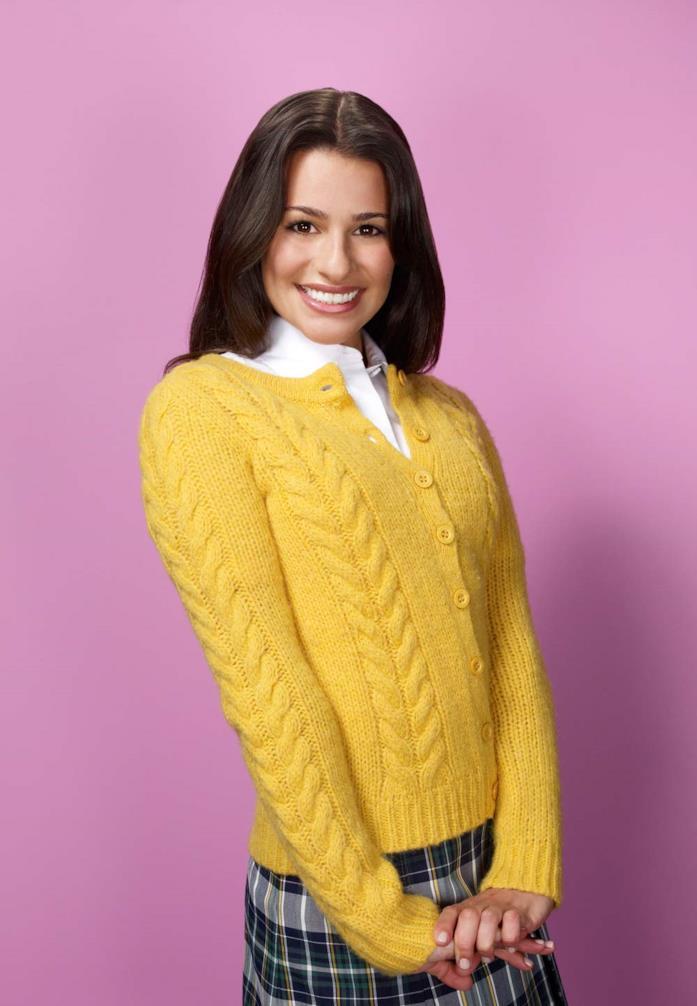 Lea Michele è Rachel Berry in Glee