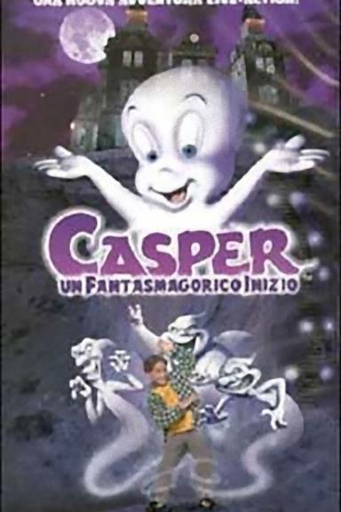 Poster Casper - Un fantasmagorico inizio
