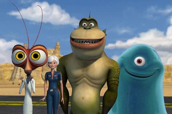 Mostri contro alieni: personaggi e doppiatori italiani