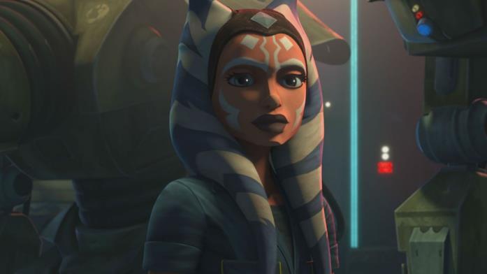 Ahsoka Tano in una immagine da The Clone Wars