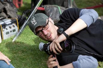 Josh Trank sul set del film Chronicle