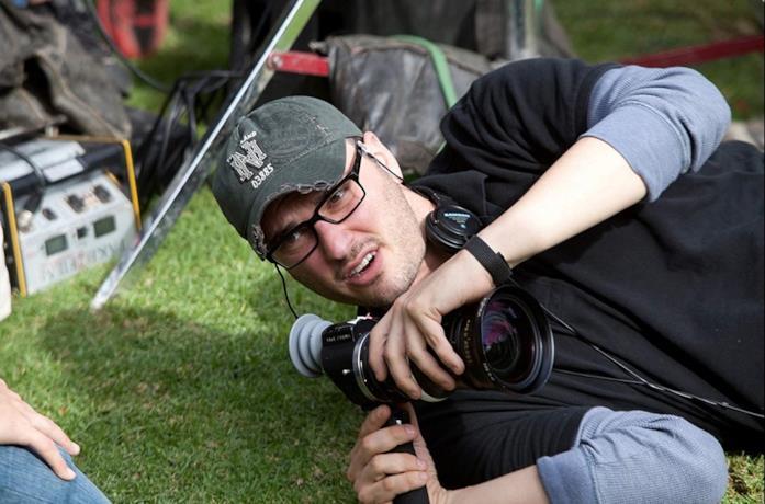Josh Trank sul set del film Chronicle