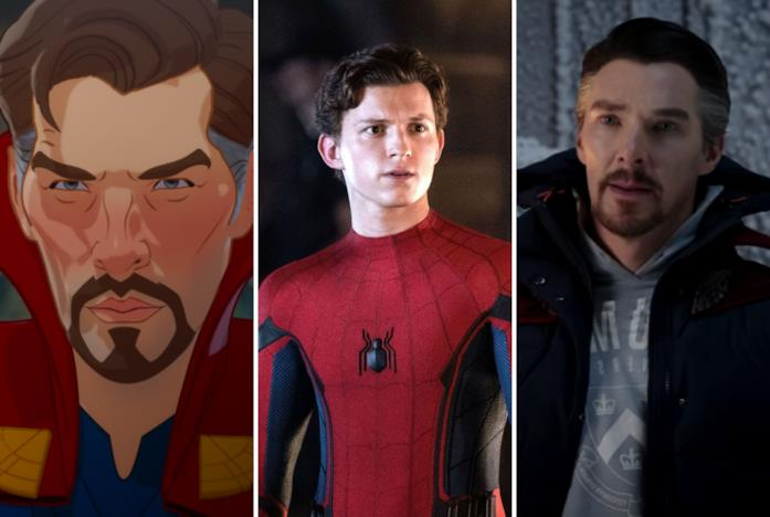 Doctor Strange in versione animata, Spider-Man e Strange in versione live-action