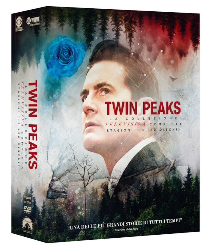 Dale Cooper sulla cover del cofanetto DVD di Twin Peaks