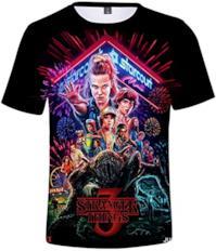 T-Shirt 3D Stranger Things