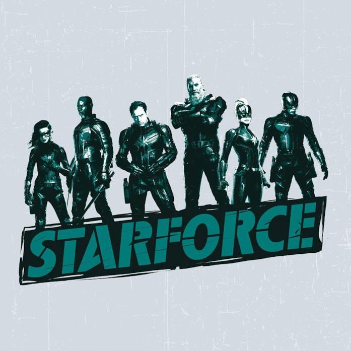 La Starforce capitanata dal personaggio di Jude Law in Captain Marvel