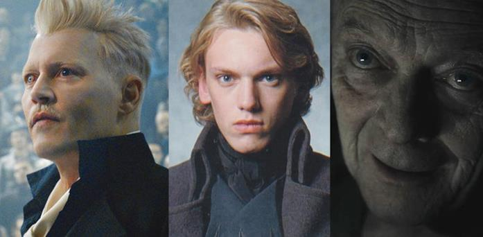 Gellert Grindelwald in Harry Potter e Animali Fantastici